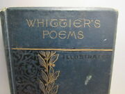 John Greenleaf Whittier The Poetical Works Household Edition