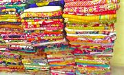 Handmade Vintage Kantha Quilt Bedding Throw Assorted Recycled Quilts 10 Pc Lot