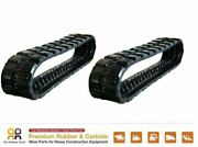 2 Pcs 16 Wide Rubber Track 400x86x50 Made For Case Tr270 Tr310 440ct 420c