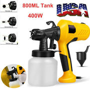 400w Electric Paint Sprayer Airless Spray Gun Painter Painting Home Wagner Usa