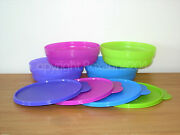 Tupperware Microwave Cereal Bowls/containers Setnew In Original Package