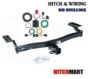 Trailer Hitch And Tow Wiring Kit For 2007-2010 Ford Edge, Lincoln Mkx  2 Sq