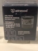 D3 Attwood Marine Boat Fuel Water Separator Canister With Double Gasket 11841-4