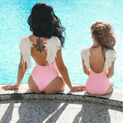 Summer Family Wing Swimming Dress Mother And Daughter Swimwear Family Matching