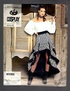 Unopened Uncut Mccalls Cosplay M2072 Hitched Ruffled Skirt Discontinued 6-14