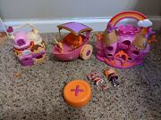 Mini Lalaloopsy Dolls 2 With Castle Boat And Ice Cream Shoppe