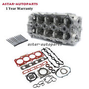 Cylinder Head And Head Bolt And Valve Fit For Vw Golf Gti Audi A3 A4 A6 Tt 2.0t Bpy