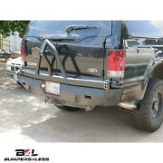 Road Armor 61208b Rear Texture Black Stealth Winch Bumpr For 1999-2007 Excursion