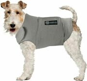 Akc Kennel Club Anti Anxiety And Stress Relief Calming Coat For Dogs Gray Xl