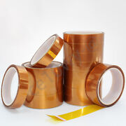 Polyimide Adhesive High Temperature Heat Kapton Tape Double-sided Width 3-100mm