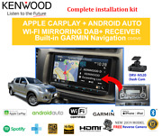Kenwood Dnx9190dabs Car Stereo Upgrade To Suit Toyota Hilux 2011-2013
