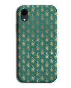 Golden Swans On Green Phone Case Cover Turquoise Swan Duck Ducks L001