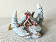 Wdcc Disney Enchanted Places Peter And Wolf Nestled In The Snow Ornament, Figurine