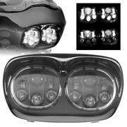 5.75 Inch Motorcycle Dual Projector Led Headlight For Motor '98-'13 Road Glide