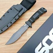 Sog Seal Pup Fixed Knife 4.75 Aus-8 Stainless Blade Reinforced Zytel Handle
