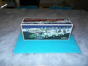 Vintage 2013 Hess Toy Truck And Tractor W/instructions Insert And Box Mint