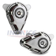 Chromed Turnable Air Cleaner For Harley Sportster Xl883n Iron Filters 2014-2017