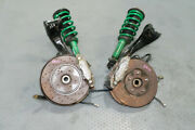 Used And Clean Pair Of Nissan R32 Gtr Front Hub Caliper Rotor And Tein Struts