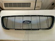 01-02 Ford F-150 F150 Harley Davidson Front Grill Grille Oem Yl34-8200-haw