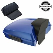 Blue Max Razor Tour Pack Trunk Luggage For 97-20 Harley Touring Flhr Flhxs Fltrx