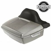 Pewter Pearl King Tour Pack Pak For Harley Street Road Electra Glide 97+