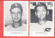 1960 Chicago White Sox Team Issue 5 X 7 Photo Set Of 12 W/env. 5 Hofers
