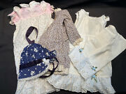 Antique Doll Baby Clothes Lot Vintage Collector's Estate Handmade Variety Unique