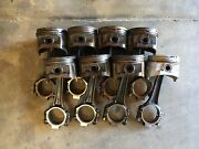 1964,1965,1966,1967 Cadillac 429 Pistons And Connecting Rods Standard