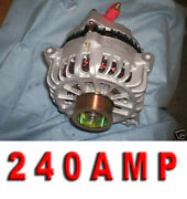 Ford Mustang Gt High Amp Alternator 05 06 07 08 09 4.6l Clutch Pulley Generator