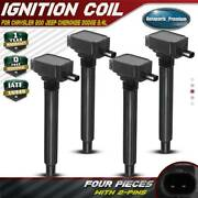 4x Ignition Coils For Chrysler 200 Dodge Dart Jeep Cherokee Compass 2.4l Uf-751