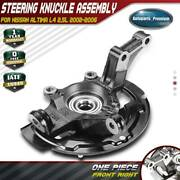 Wheel Hub Bearing Knuckle Assembly For Nissan Altima L4 2.5l 2002-06 Front Right