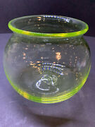 Vasline Fish Bowl For Weller Woodcraft Muskota Fishbowl Holders Or Other Table T