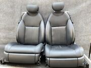 ✔mercedes W216 Cl550 Cl600 Front Left And Right Leather Seats Seat Cushion Set Oem