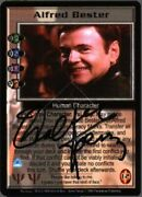 Babylon 5 Alfred Bester Signed By Walter Koenig [psi Corps] [lightly Played]