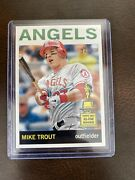 Mike Trout 2013 Topps Heritage Baseball 430b Action Variation Sp