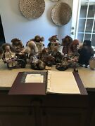 Lizzie High Dolls Lot Of 14 With Book All With Tags