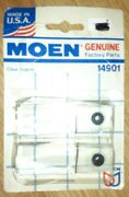 Genuine Moen Faucet Pair Wing Handle Inserts Replacement Clear 14901 Made Usa