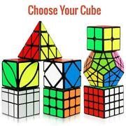 Magic Cube Toy 3x3/2x2/5x5/7x7 Choose Shape And Color Puzzles Ultra Smooth Play