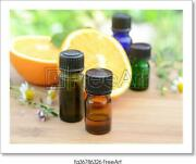 Essential Oils With Art Print / Canvas Print. Poster Wall Art Home Decor - F