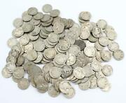 186x Dateless And Damaged Buffalo Nickels 1916-1937 186-coins