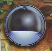 16 X Hpm Rosi Led Stainless Steel 304 Round Outdoor Step Wall Light 12v 1w Ip54