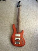 New Mike Lull Jt5 5 String Jazz Bass Trans Orange Finish Limited Rare Reduced