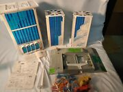 Vintage Earth Quake Tower Play Set - With Box Wonderful Collectable