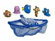 Disney Pixar Finding Dory Mr. Ray's Dive And Catch Game Nemo Bath Water Toys