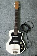 Vox Shadow Electric Guitar Rare Uk Model 1959-1963 W/ Tweed Hsc+free Us Shipping