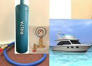 For Dometic Marine Air Conditioner Refrigerant R417a Recharge Kit 28 Oz. R-417