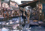 Wild Bill Hickok And Calamity Jane - By John Paul Strain - Ap Paper Giclandeacutee Signed