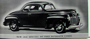 1941 Plymouth P-11 P-12 Business Coupe Complete Master Weatherstrip Kit