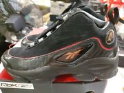 Reebok Iverson Legacy Menand039s Basketball Shoes Black-white-red-brass Cn8404 Us 8