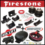 Firestone Ride Rite Kit And Airlift Air Compressor Fit 2007-2020 Toyota Tundra
